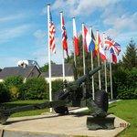 Museum memorial garden