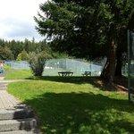 Extérieur côté tennis