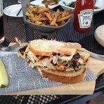 """Goodah"" Chicken Melt - pretty awesome sandwich"