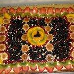 La crostata di frutta fresca
