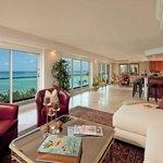 Royal Kai Lani Suite Living Room With Kitchen