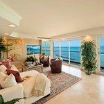Royal Kai Lani Suite Living Room