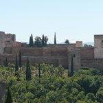 Alhambra from the Albayzin