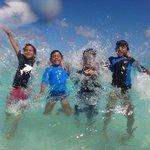 Disfrutando en la Playa del Beach Palace
