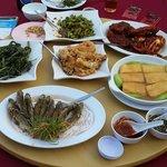 Delicious food at Oriental Seafood Penang