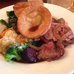 Sunday lunch: roast beef