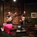 Matt McAtee and Steve Forrest performing at the Jack Daniels.