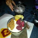 verrine framboise-speculos façon cheese cake