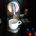 Fresh in-room espresso ... mmmmm