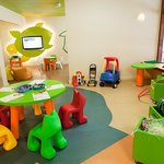Totel Kids Club has bright colours and playful designs