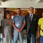 Our group with Hotel General Manager Mr. Philip