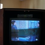 last century TV with not working remote