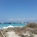 beach at illetes Formentera