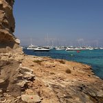 beach at illetes Formentera