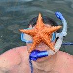 Snorkeling en el muelle.