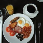 English Breakfast - alles da!