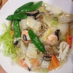 Sea food He Fen! Yummy! ;)