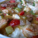 Scrumptious Low South Grits and Shrimps