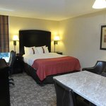 1 Queen bed with kitchenette