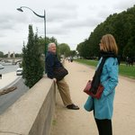Tired Tourists, Seine River, Paris, France