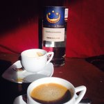 Espresso with Italian grappa? Perfect after dinner.