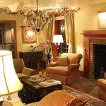 The lovely living room.