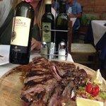 Vino Chianti Classico e bistecca alla fiorentina... un must