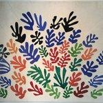 Matisse's Le Gerbe. in the central atrium