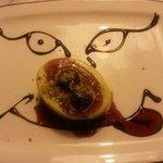 semifreddo al pistacchio con amarene