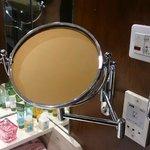 зеркальце ( которого нет ) в Senior Suite