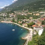 the beautiful town of malcesine