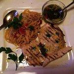 Schwertfisch mit Pasta