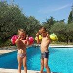 Nos enfants etaient enchantes Fabien & emily