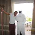 Khalid. 1st class cleaner