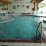 The indoor pool
