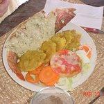 Fresh food we enjoyed