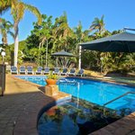 Heated pool - great in the winter
