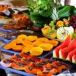 Café da manhã - frutas da estação