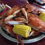 Boil crabs