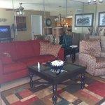 Room 806 living area.