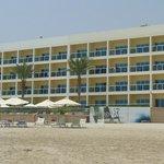 Das Hotel ist sage und schreibe 500m lang;-)