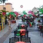 plaza principal el dia Mexicano