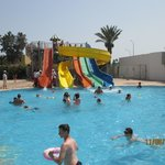 Excellent slides and smaller pool