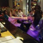 Birthday party for 40 at Balti kitchen extension