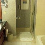 Clean bathrooms, with good water pressure - always important!
