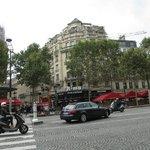 Roma Pizzeria, Avenue des Champs Elysees, Paris, France
