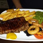 Steak Meal.