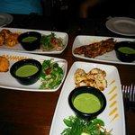 Starters - Chicken Tikka, Garlic Chick Tikka, Kebabs