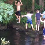 Messin about in the river