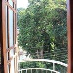 View from bedroom balcony door